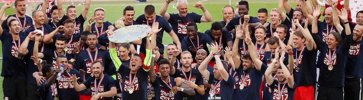 RB Salzburg ist erneut Topfavorit auf die Meisterschaft in der Tipico Bundesliga. Außenseiter sind Rapid und Austria Wien.