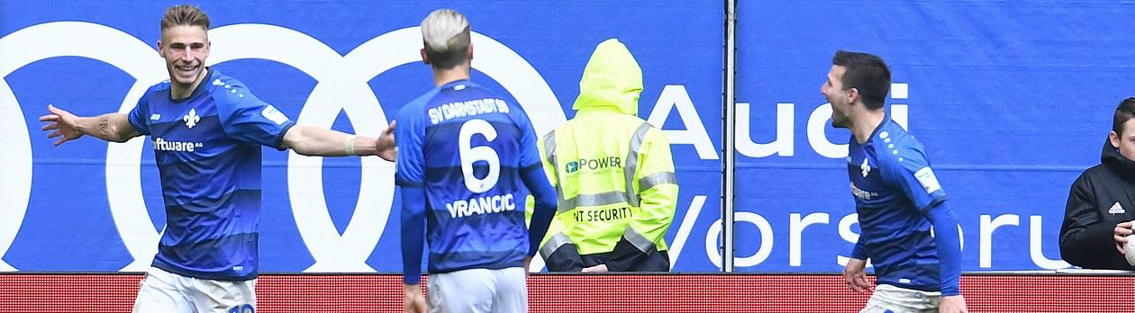 Für Tipico Sportwetten sind Darmstadt 98 und der FC Ingolstadt die Favoriten auf die Meisterschaft in der 2. Bundesliga und den Aufstieg am Ende der Saison.